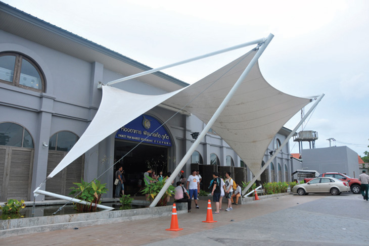 Tensioned Membrane Structures Window Design Amp Awnings